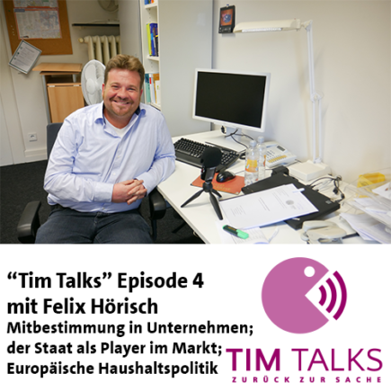 """Tim Talks"" Episode 4: Felix Hörisch"