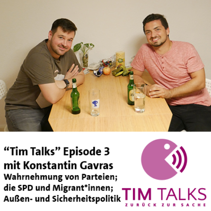 """Tim Talks"" Episode 3: Konstantin Gavras"